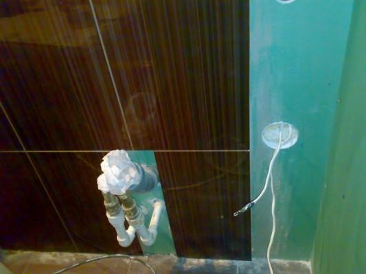 как положить плитку на гипсокартон в ванной