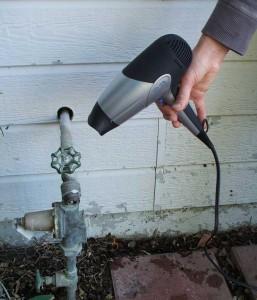Что делать если замерз водопровод