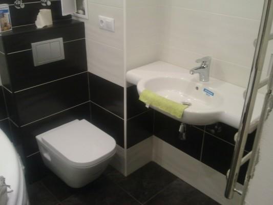белая плитка в ванной фото