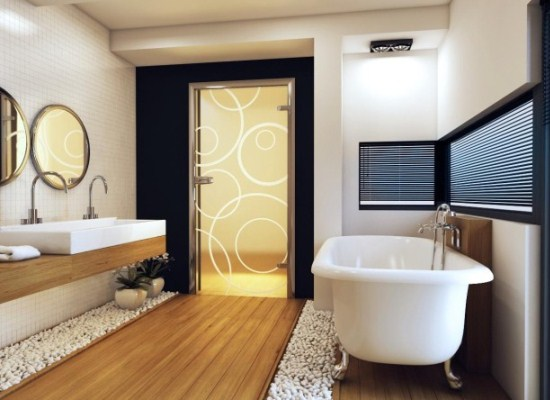 двери в ванную и туалет фото