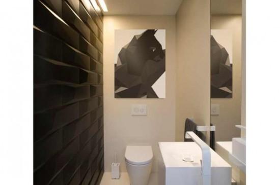 дизайн плитки в туалете