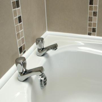 бордюр для ванной пластиковый