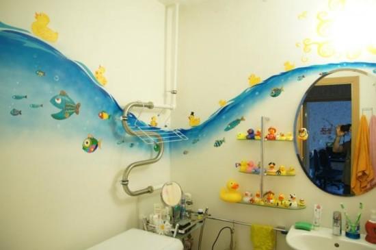 трафареты для ванной