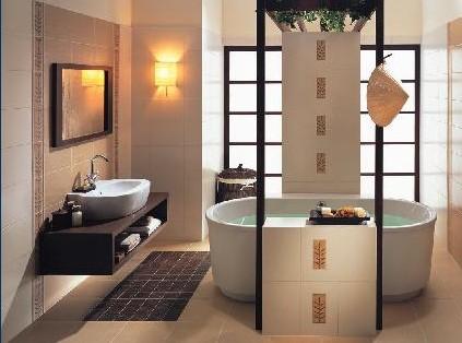 ванная в восточном стиле фото