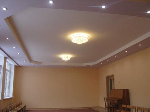 многоуровневые потолки из гипсокартона своими руками видео