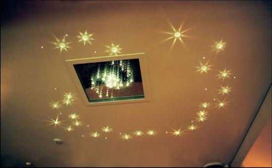 светодиодные точечные светильники для гипсокартонных потолков