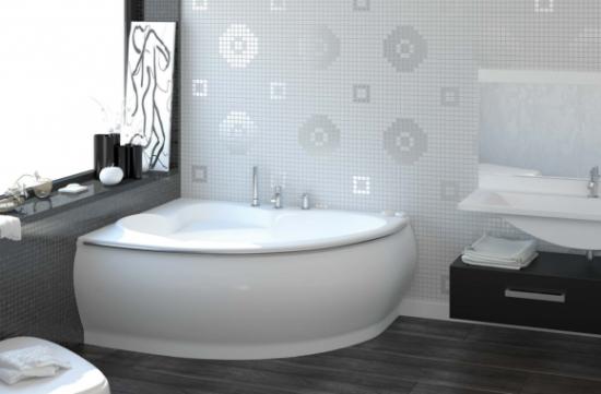 ванны угловые размеры фото
