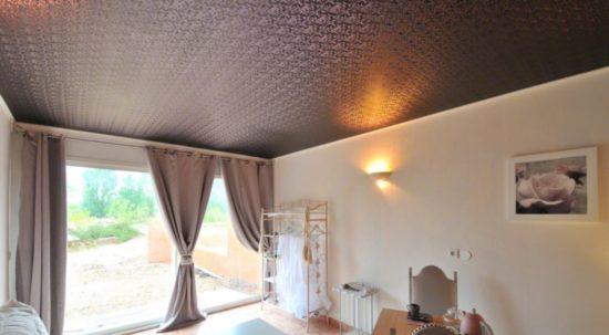 натяжные потолки фото для зала