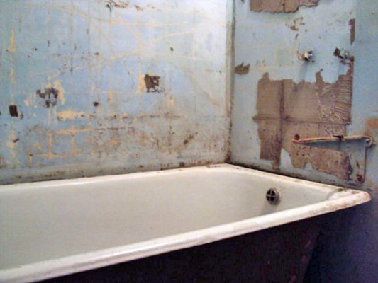 ремонт в ванной сезон