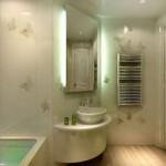 Отделка ванной комнаты - варианты
