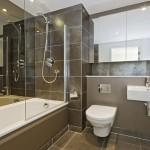 Пример плитки в ванной комнате