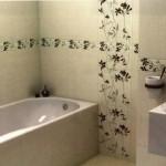 Лаконичный вариант отделки ванной комнаты