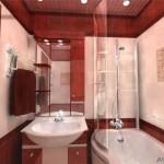 дизайн ванной комнаты 3 кв м фото с душевой кабиной