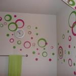 Узоры на стена в ванной