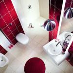 Красивые стены в ванной комнате