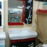 стеклянные полки в ванную