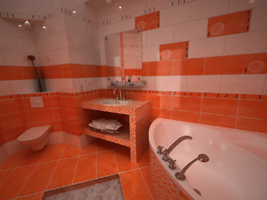 дизайн ванной комнаты плитка фото