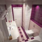 Типичная ванная комната на 4 кв.м.