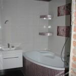 Идея для просторной ванной