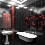 интерьер ванной комнаты плитка
