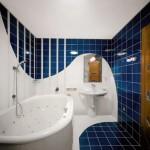 интерьер в ванной в квартире