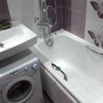 ремонт маленьких ванных комнат