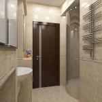 стеклянная дверь в ванную комнату