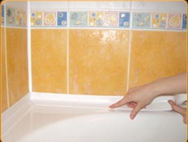 плинтус для ванной широкий