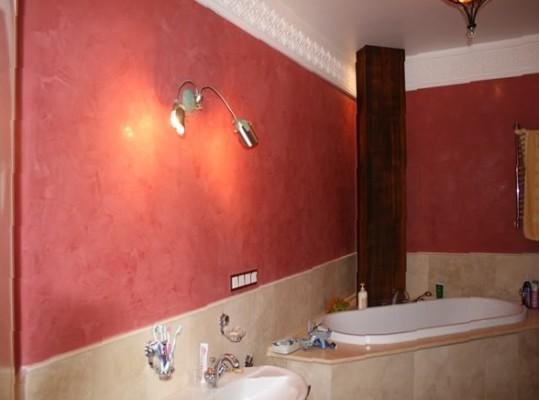 декоративная штукатурка в ванной комнате отзывы