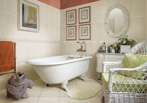 ванная в стиле прованс фото