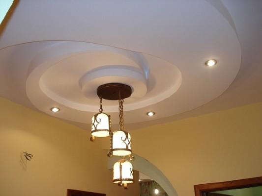 гипсовые потолки дизайн фото
