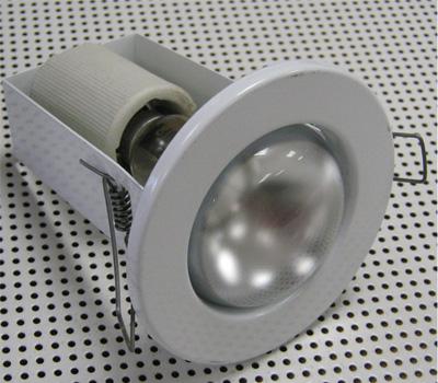 точечные светильники для натяжных потолков фото