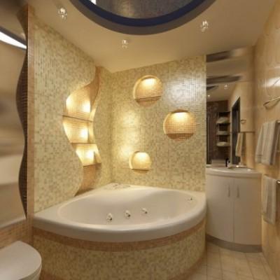 ванны акриловые угловые ассиметричные