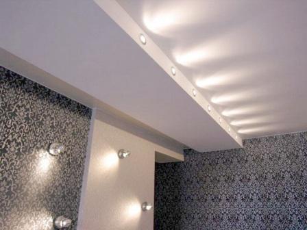 светильники для натяжных потолков фото цены